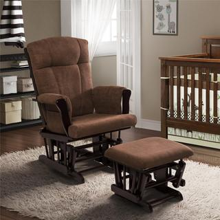 Baby Relax Glider Rocker and Ottoman
