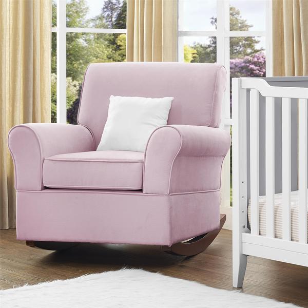 Baby Relax Mackenzie Pink Rocker