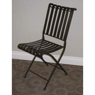 Rounded Metal Folding Chair (2 per box)