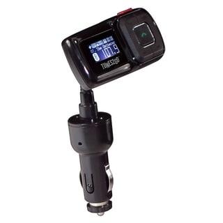 Sondpex Bluetooth Hands free Car Kit/ FM Transmitter/ USB Charger (5V/1A)