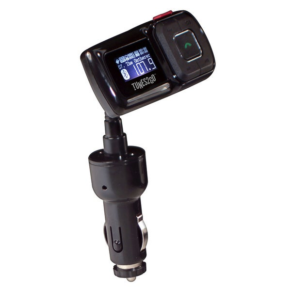 Sondpex Bluetooth Hands free Car Kit/ FM Transmitter/ USB Charger (5V/1A)