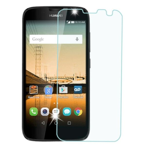 INSTEN Transparent Clear Tempered Glass Screen Protector for Huawei Union