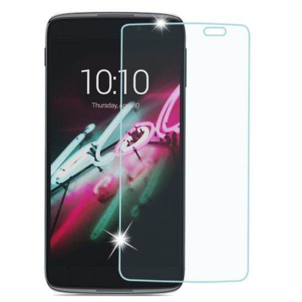INSTEN Clear Transparent Tempered Glass Screen Protector for Alcatel One Touch Idol 3 5.5-inch