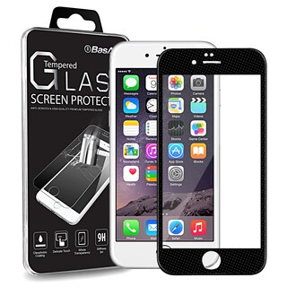 BasAcc Clear Regular 0.3mm Tempered Glass with Solid Color Frame Screen Protector for Apple iPhone 6 Plus/ 6s Plus 5.5-inch