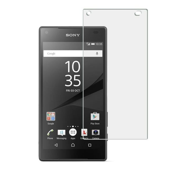 INSTEN Clear Tempered Glass Screen Protector for Sony Xperia z5