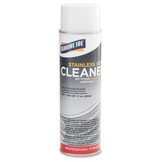 Genuine Joe Stainless Steel Cleaner - (12/Carton)