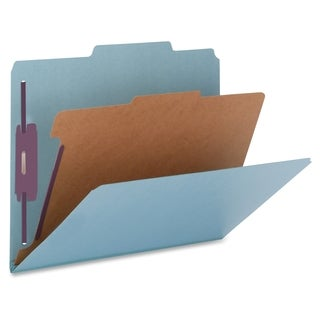 Nature Saver Cleared Top-tab 1-Divider Classification Folder - (10/Box)