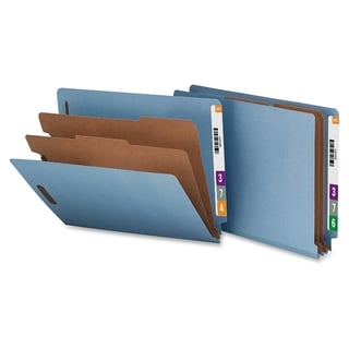 Nature Saver End Tab Classification Folder - (10/Box)