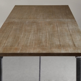 Madison Park Blyth Dining Table with Metal Legs