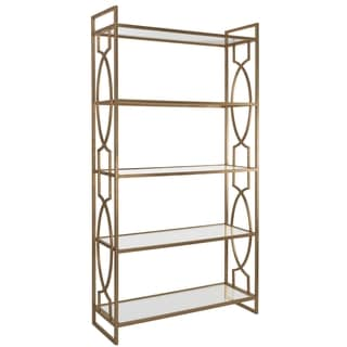 Safavieh Couture Collection Karah Gold Leaf Etagere