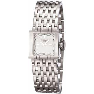Tissot Womenls T02118181 Six-T White MOP Watch