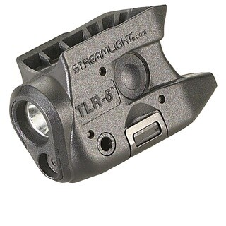TLR-6 Subcompact Gun Mounted Light with Red Laser Fits Kahr ARM