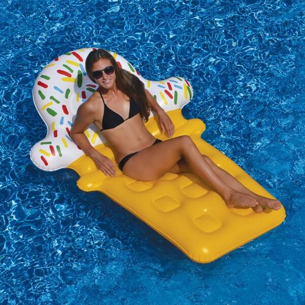 Swimline Ice Cream Dream Float Inflatable for Swimming Pools