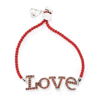 Friend Ship 'Love' Adjustable Bracelet with Colors of your Choice.