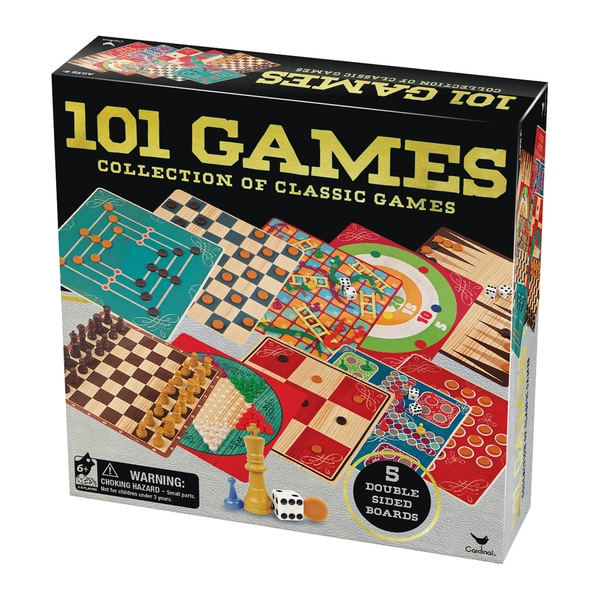 Cardinal 101 Games Collection of Classic Games