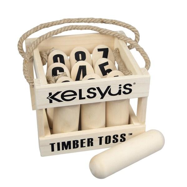 Premium Timber Toss 9 Pin