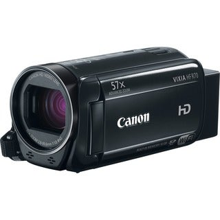 "Canon VIXIA R70 Digital Camcorder - 3"" - Touchscreen LCD - HD CMOS -"