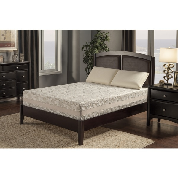 Blissful Nights Jasmine 12-inch Twin XL-size Latex and Gel Memory Foam Mattress