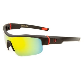 Khan Men's Plastic Sporty Flak Sunglasses