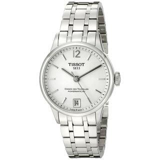 Tissot Women's T0992071103700 'T-Classic Chemin Des Tourelles' Automatic Stainless Steel Watch