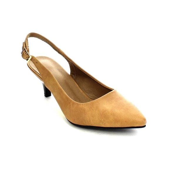 Beston GB54 Women's Kitten Heel Sling Backs