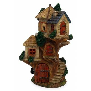 The Tree House Fairy Gardening Building