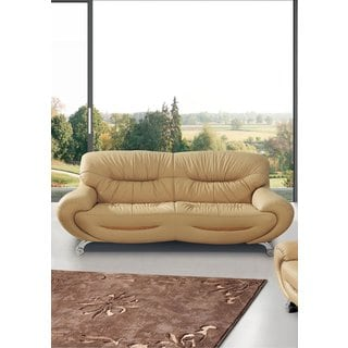Luca Home Beige Sofa Bed