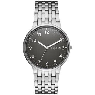 Skagen Men's SKW6247 Ancher Grey Dial Stainless Steel Bracelet Watch
