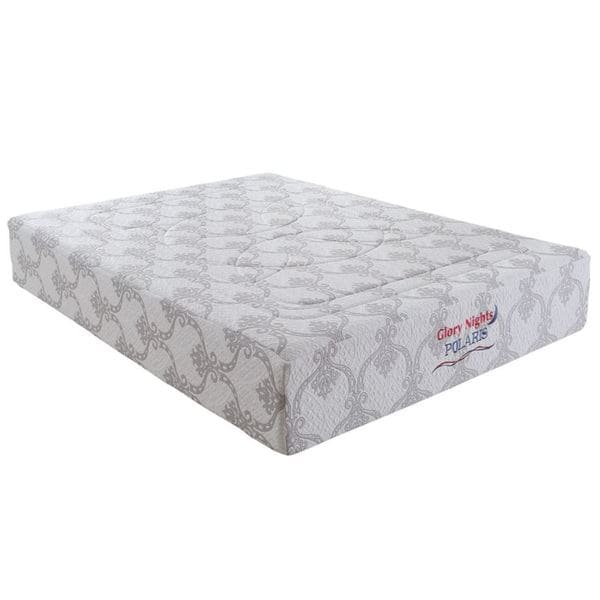 Polaris 12-inch Twin-size Gel Memory Foam Mattress