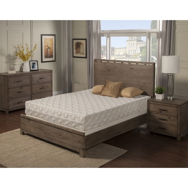 Blissfull Nights Blossom 9-inch King-size Memory Foam Mattress
