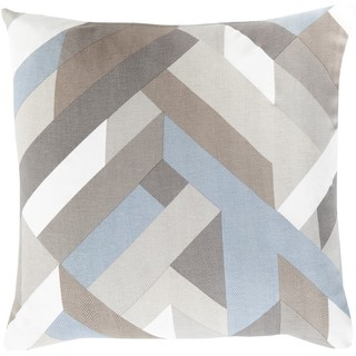 Decorative Altadena 22-inch Down or Polyester Filled Pillow