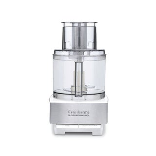 Cuisinart DFP-14BCWNY 14-Cup Food Processor (Brushed Stainless Steel, White)