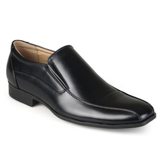 Vance Co. Men's Faux Leather Slip-on Dress Loafers