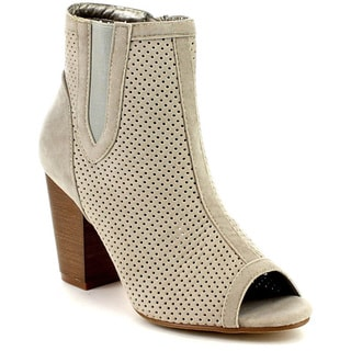 Beston DB48 Women's Stacked Heel Ankle Booties