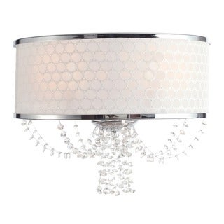 Crystorama Allure Collection 2-light Polished Chrome Wall Sconce