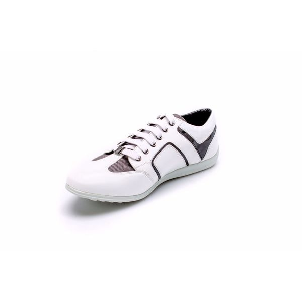 Versace Men's Leather Low Top Sneakers