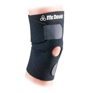 McDavid Classic 409 Level 1 Adjustable Knee Wrap with Open Patella