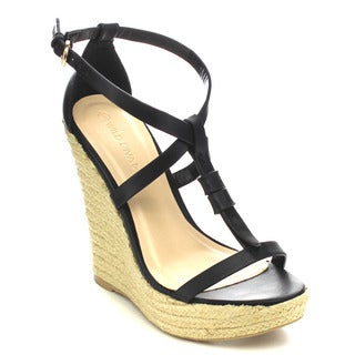 Wild Diva MADISON-180 Women's Espadrille Wedges