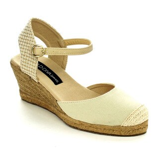 Wild Diva SALLY-02 Women's Espadrille Wedges