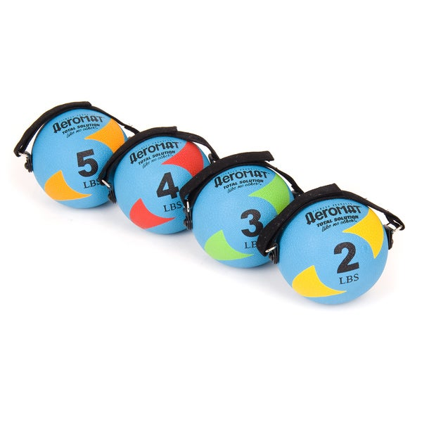 AeroMat Power Yoga/ Pilates Weight Balls