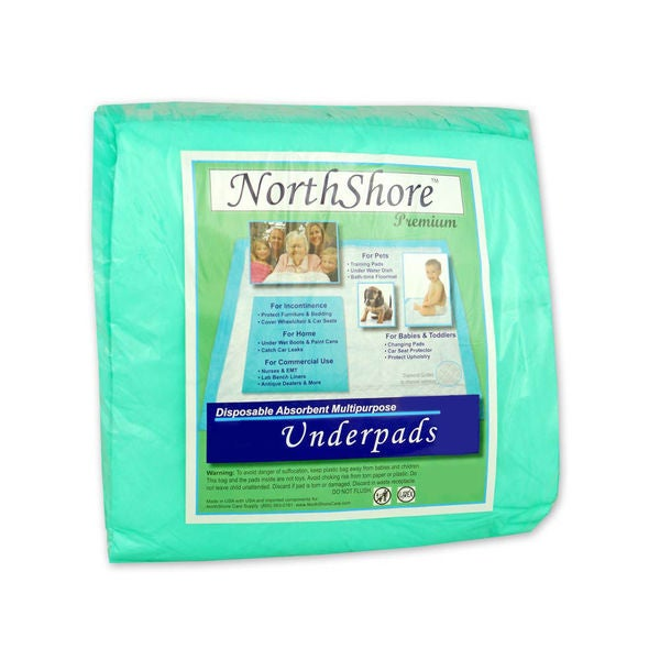 NorthShore Premium Disposable Ultra-large 36-inch x 36-inch Underpads (Pack of 120)
