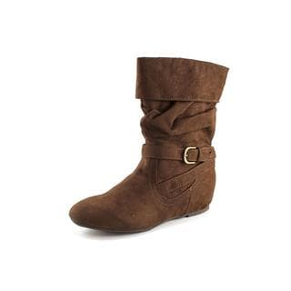 White Mountain Women's 'Overpass' Faux Suede Boots