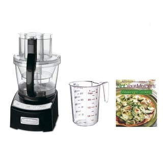 Cuisinart Elite Collection 2.0 12-Cup Food Processor + Cookbook & Measuring Cup