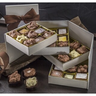 Dulcet's Finest Four Tier Rich Chocolate Assortment