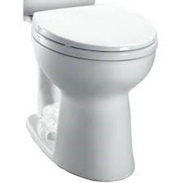Toto Entrada Round Toilet Bowl Cotton White