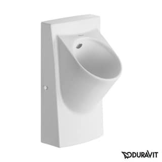 Duravit Urinal Architec with Nozzle White / Concealed Inlet/ Battery Spl. White Alpin