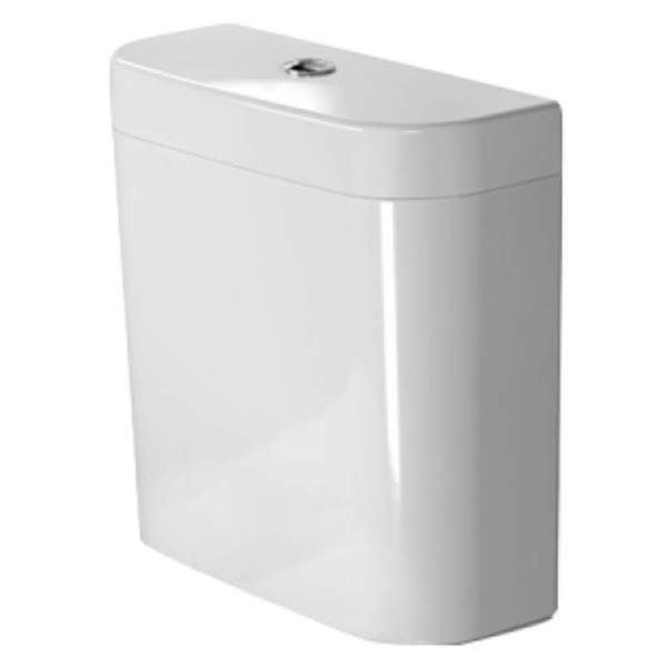Duravit Happy D.2 Cistern- Close-coupled Washdown Model/ Outlet For Vario/ White Alpin