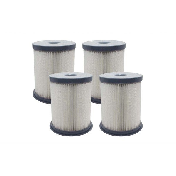 4pk Replacement Dust Cup Filters, Fits Hoover Elite Rewind, Compatible with Part 59157055 17443131