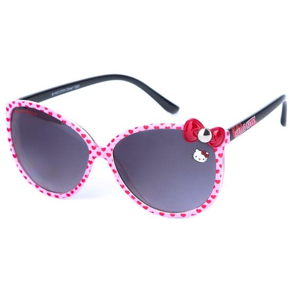 Hello Kitty Women's Heart Fashion Sunglasses