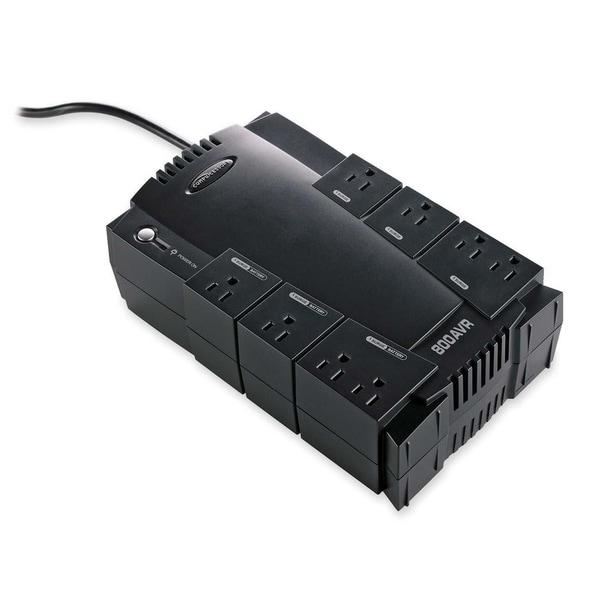 Compucessory 800VA UPS 800 VA/450 W - 120 V AC - 8 - Surge, Spike, Sag, Brownout